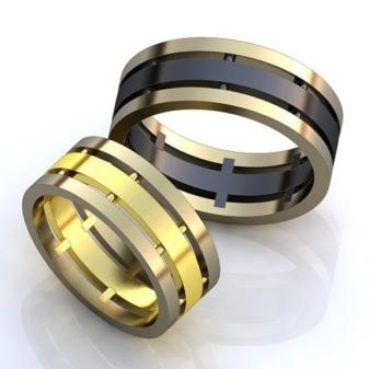 d6017e36ddf9 Широкие кольца из желтого золота – это, можно сказать, классика ювелирной  моды. Если вам нравятся простые и элегантные вещи, то можно остановить свой  выбор ...