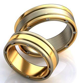 Широкие обручальные кольца (45 фото): женские свадебные аксессуары, гладкие парные модели