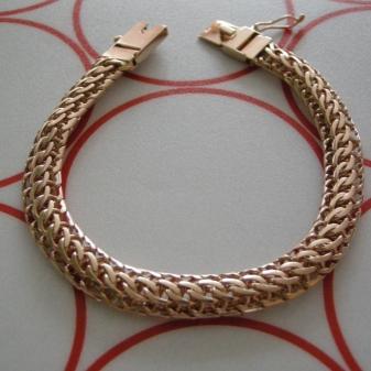 Золотое плетение тондо