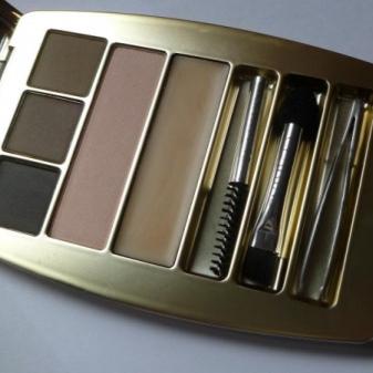 Гель для бровей Art-Visage: оттеночный коричневый и прозрачный гель для ресниц, отзывы