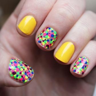 Красивый маникюр на маленькие ногти в домашних условиях (фото)