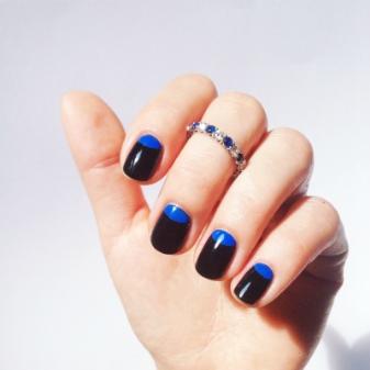 Дизайн гель-лаком на короткие ногти (71 фото): рисунки для маникюра, покрытие на очень короткие ногти, френч, идеи цвета