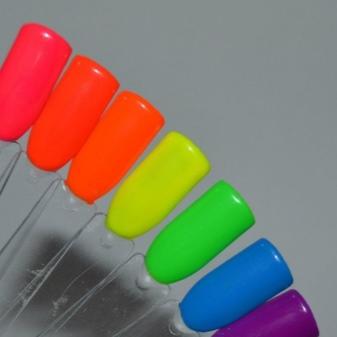 Гель-лак (37 фото): палитра цветов для ногтей, отзывы мастеров