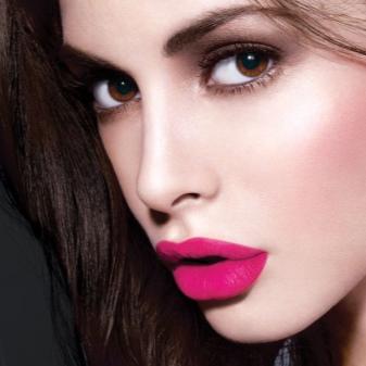 Блеск для губ Pin-Up: матовый блеск, палитра Lux Visage, отзывы