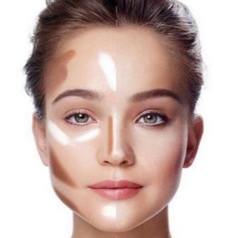 Контуринг (44 фото): что это такое и какой нужен для разных типов внешности, как шаг за шагом с помощью макияжа сделать худее контур лица