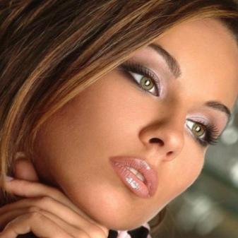 Smoky eyes; для зеленых глаз (26 фото): как сделать легкий макияж на серо-зеленые глаза, пошаговое руководство