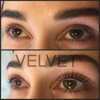 Velvet для ресниц (28 фото): описание процедуры реконструкции, сравнение до и после, отзывы