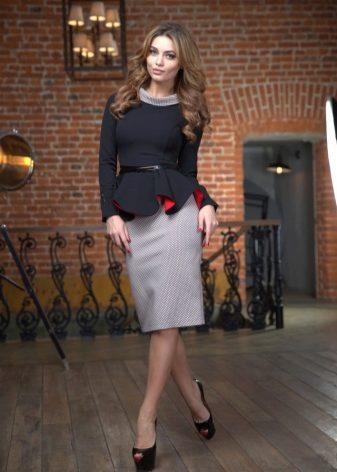 Юбки и блузки на выпуск фото