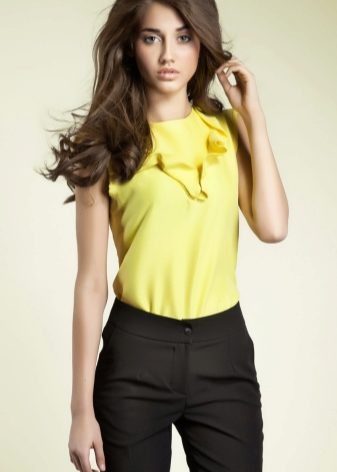 Блузки из шифона (72 фото): красивые шифоновые блузки, с чем носить, модные фасоны, модели, цвета