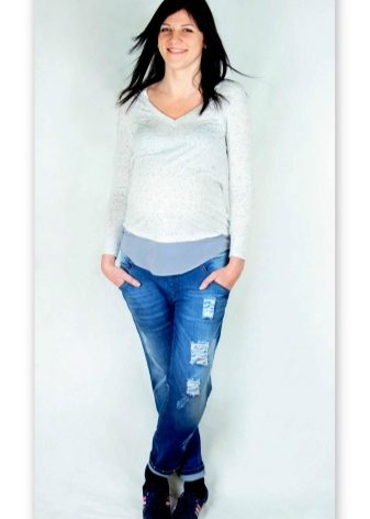 Джинсы бойфренды для беременных (48 фото): с чем носить, особенности моделей, как правильно выбрать, где купить