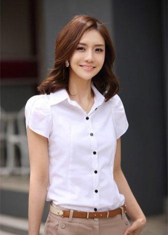 Модели блузок (176 фото): с длинным рукавом, коротким и без рукавов, трикотажные, из хлопка, шелка, шифона, летние