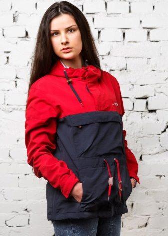 Стандартная длина анораков не опускается ниже пояса или середины бедра.  Куртки e7997d1196b49