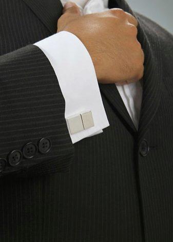 3d7ab83337e Рубашки под запонки (48 фото)  как правильно носить