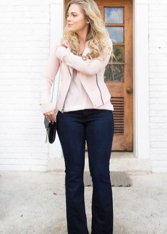Летние джинсы для полных женщин: какие подходят, советы стилиста, прямые, узкие, рваные, клеш
