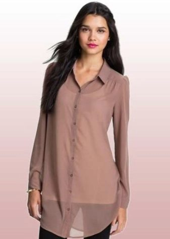 7f180cea3e65 Рубашка туника фото. Женская рубашка-туника (41 фото): с чем и как ...