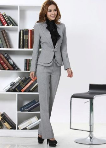 Серый пиджак (42 фото): с чем носить, женские модели
