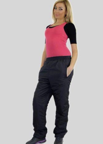 e2c7ca073e7 Утепленные брюки (57 фото)  спортивные