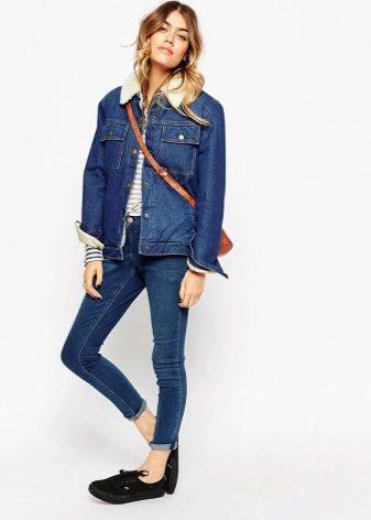 f54e738c4ce Джинсовые куртки женские 2019 года (108 фото)  модные