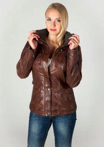 Кожаные Куртки Весна
