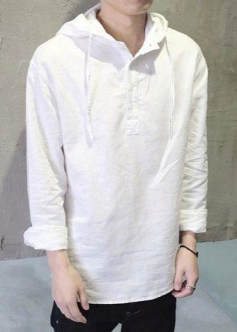 dfcc343c4fa Женская льняная рубашка (58 фото)  с чем и как носить