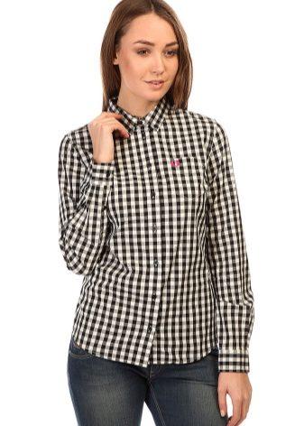 1570c6385bd Рубашка в мелкую клетку больше подходит худышкам. Кроме того