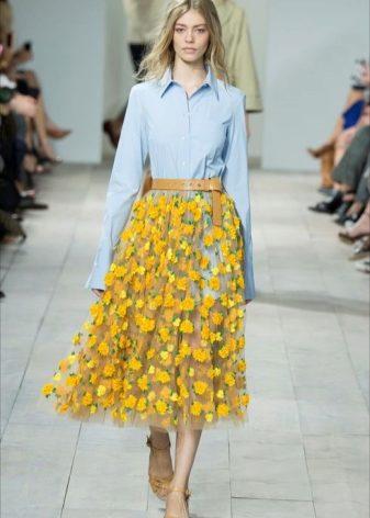 Прозрачная юбка под фото 785-665