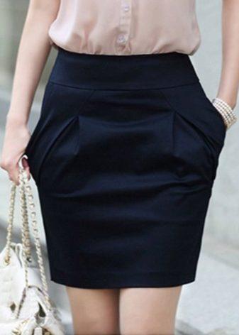Как увеличит длину юбки