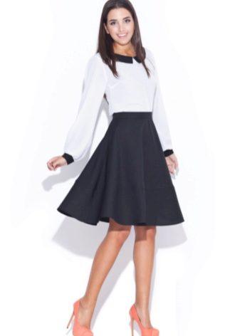 Модные юбки в школу для подростков 2017