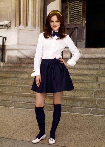 Современная юбка в школу