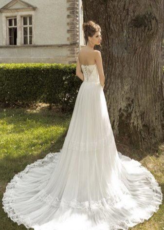 Свадебное платье в стиле - Прованс - (56 фото)