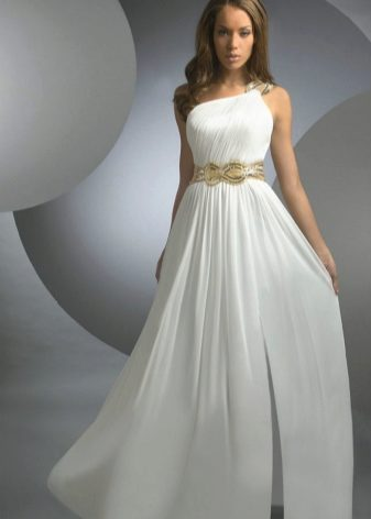 3c9a8ff25f1 Свадебные платья в греческом стиле 2019 (106 фото)  для беременных ...