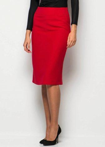Чем хороша прямая юбка