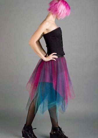 Чулки под юбкой во время танцев фото 248-491
