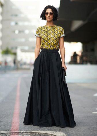 Какая ткань подходит на юбку солнце