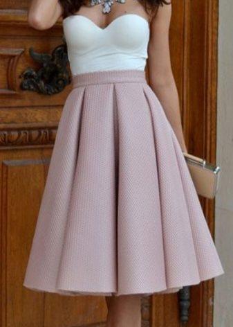 Название тканей для юбки