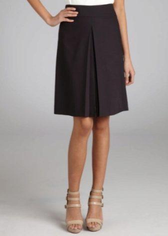 Женские юбки широкая складка