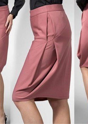 Какие складки на юбку лучше