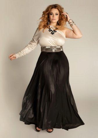 621b08d317ce1d6 Такие юбки всегда в моде. Летом длинная юбка из легкой, летящей ткани  придаст образу воздушности и изящества. Осенью расклешенная юбка макси из  плотного ...