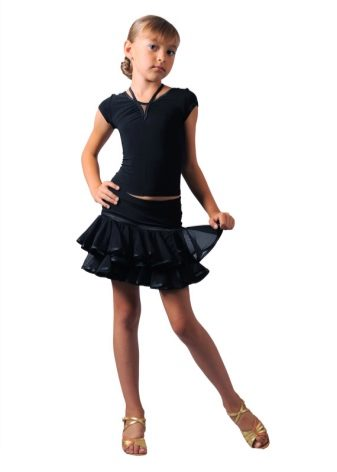 Короткая юбка для выступления