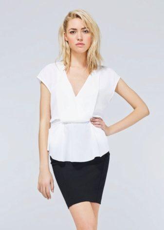 Сшить рубашку женскую без рукавов