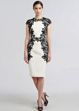 Резултат со слика за crno bel fustan