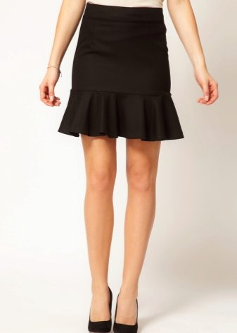 Женские юбки с воланами