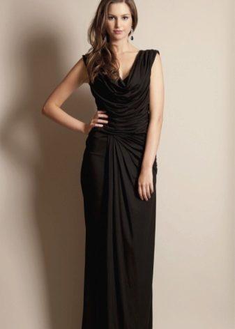 8d8f74ced7c Черное вечернее платье (66 фото)  черно-белое