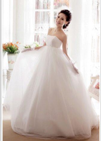 Свадебное платье большое пышное