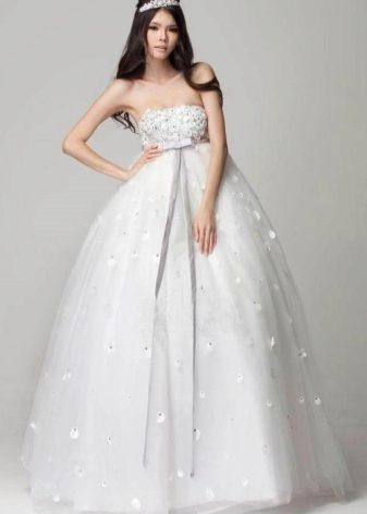 Свадебное платье пышное для беременных