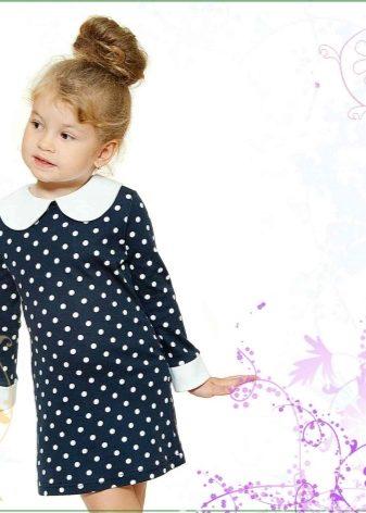 Детские теплое модные платья для 8 лет