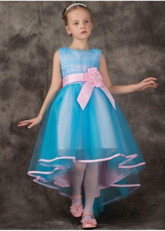 Детские платья на выпускной 4 класс со шлейфом