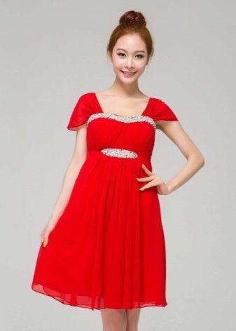 Платье с завышенной талией коктейльные