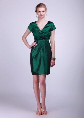 Ажурные зеленые платья