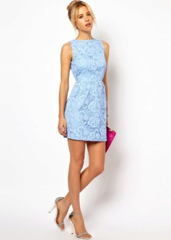 42592c7d8a3 Короткие летние платья 2019 (107 фото)  с коротким рукавом
